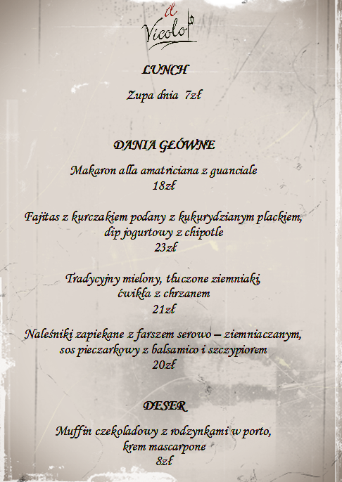 lunch 20-24.11