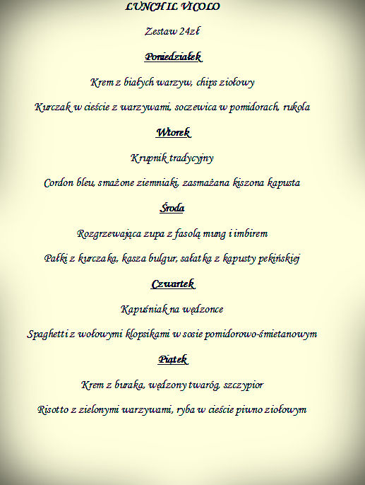 lunch 15-19.01